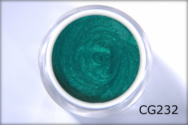Colour Gel Green Sparkle 4,5 ml
