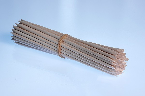 Rosenholzstäbchen 13,7 cm lang 50 Stück