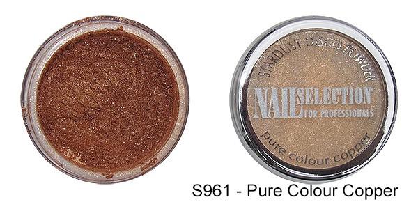 Farbpigmente Powder pure colour copper