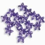 Sparkling Nail Stars flieder 50 Stück