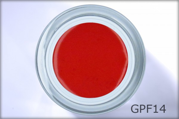 Perfect Finish Gel LAC red 14 ml