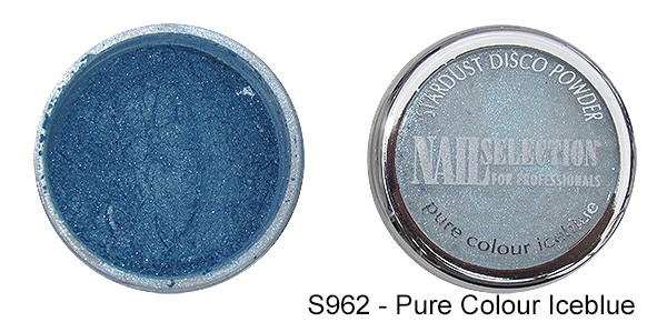 Farbpigmente Powder pure colour iceblue