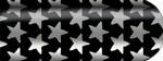 Blixz Folie Black mit Silber Sterne