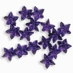 Sparkling Nail Stars lila 50 Stück