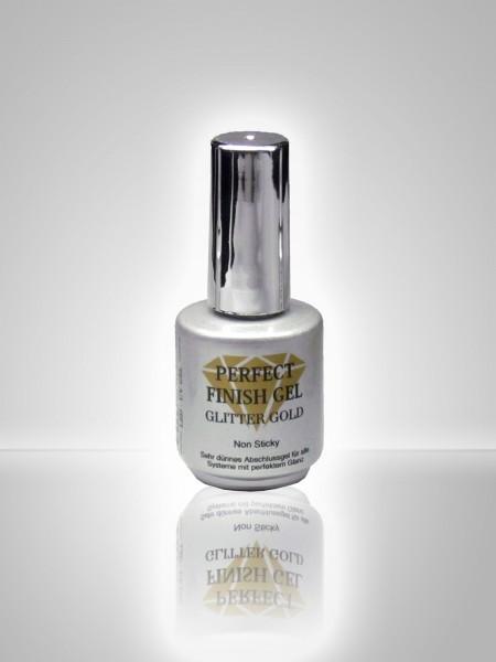 PERFECT FINISH GEL GLITTER GOLD 14 ml