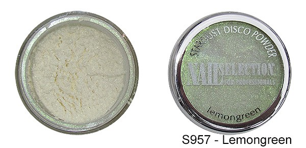 Farbpigmente Powder Lemongreen