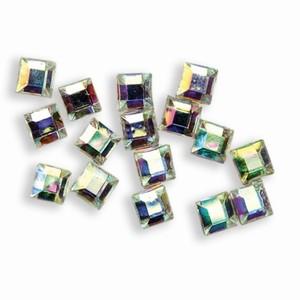 Nail Art Caros Crystal mehrfarbig schimmernd 50 Stück