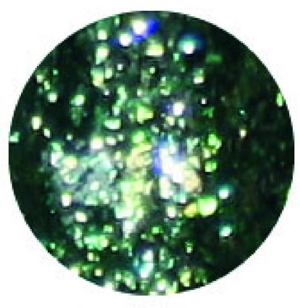 Chrome Glam Gel gelb grün 5g