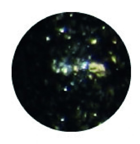 Chrome Glam Gel tief schwarz 5g