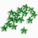 Sparkling Nail Stars hellgrün 50 Stück