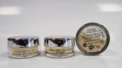 COLOUR ACRYL Glitter gold 4 g