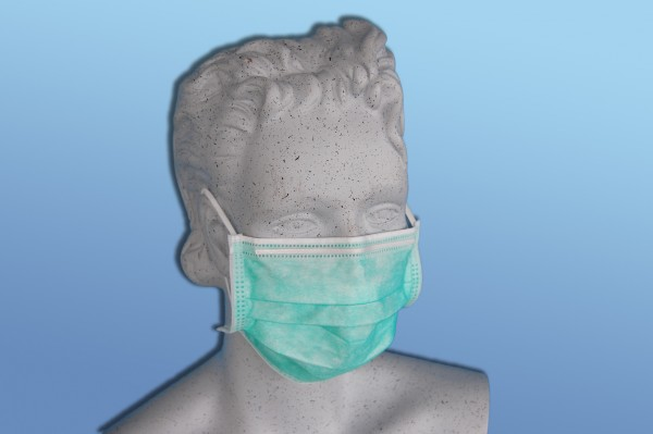 Medizinische Einmal-Gesichtsmaske EN 14683-Typ IIR 50 Stück