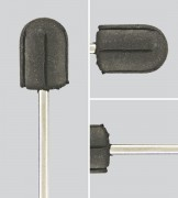 Gummiträger für Schleifkappen 10 mm