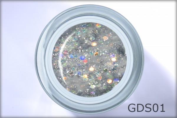 DIAMOND SPARKLE GEL Disco Fire 4,5 ml