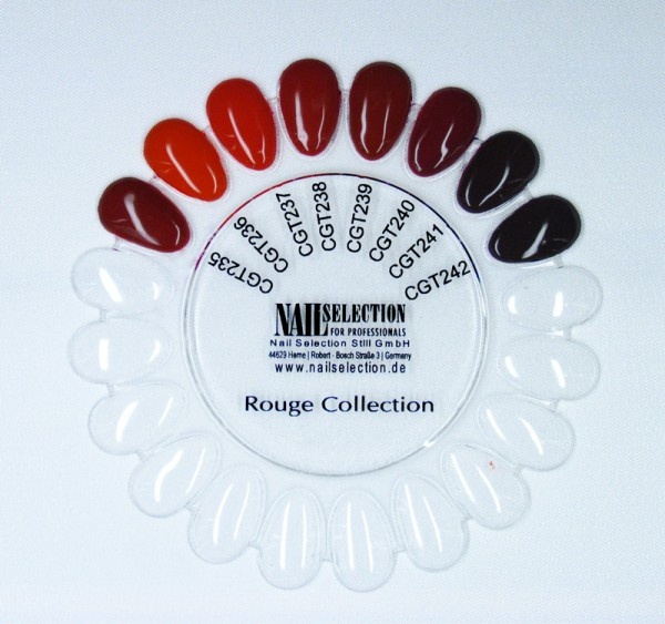 Colour Gel Ruge Collection Set