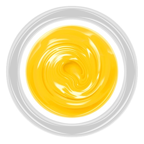 Yellow Permanent Colors Farbgel - 5g