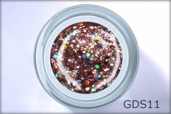 DIAMOND SPARKLE GEL Girl of Glamour 4,5 ml