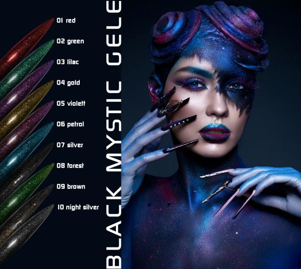 BLACK MYSTIC GEL Set 5 g