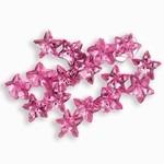 Sparkling Nail Stars rosé 50 Stück